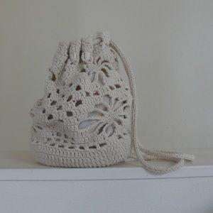 Boho Crochet Mini Back Pack
